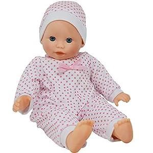 The New York Doll Collection- The New York Muñeca Collection B123 35,56 cm Suave Cuerpo caucásico bebé, Color (43291-22670)
