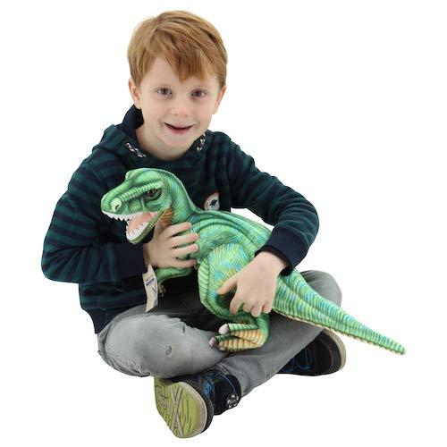 Sweety Toys 10813 Dinosaurier Plüsch Kuscheltier 57 cm grün Tyrannosaurus Rex