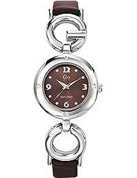 GO Girl Only Damen-Armbanduhr XS Analog Leder 697389