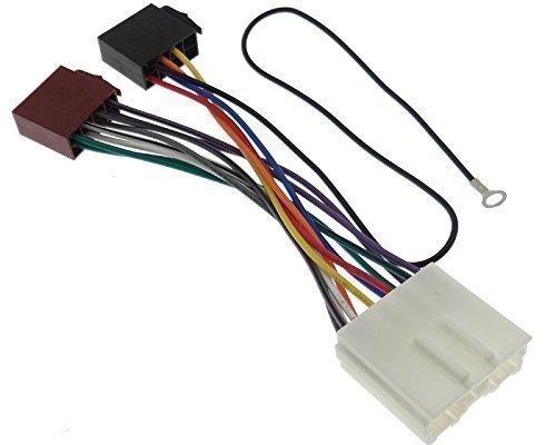 MITSUBISHI (2) Radioadapter Kabel Stecker Adapter ISO Anschlusskabel Radio DIN