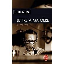 Lettre a Ma Mere (Ldp Simenon)