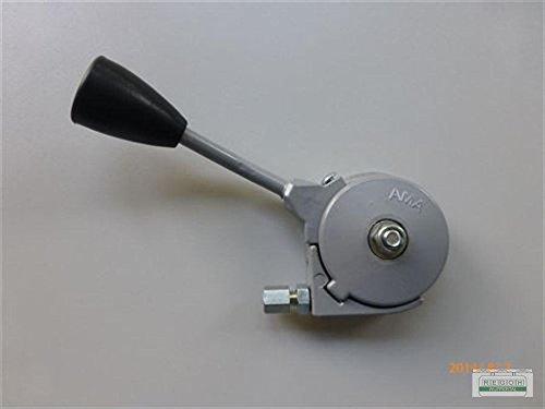 Gashebel Verstellhebel 200mm universal Gasverstellung für Linksseitige Befestigung (Rasenmäher Gashebel)