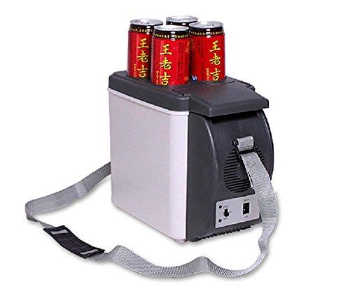 MTTLS Auto Kühlschrank 12v Auto-Kühlvorrichtung-Wärmer 6L elektrischer Kühlraum-beweglicher Spielraum-Kühlraum-Kühlvorrichtung-Kasten (Elektrische Stecken Trockner)