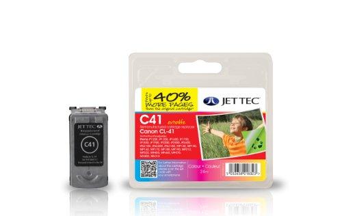 Preisvergleich Produktbild Jet Tec 0617B001 Canon CL-41 color In England hergestellte Wiederaufbereitete Tintenpatrone Couleur