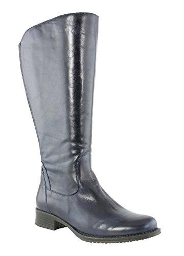 JJ Footwear Damen Stiefel Leder Mannheim XL Ozean Dream