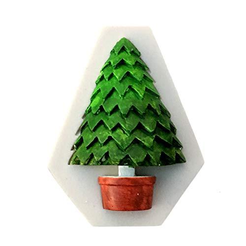 Amphia Weihnachten Dekoration - Silikon Weihnachtsbaum Santa Claus Elk Schlitten Stab Form SchokoladenKuchen Formen,DIY Silikon Kuchen Backform -