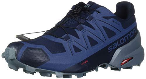 SALOMON Shoes Speedcross, Zapatillas de Running para Hombre, Azul Navy Blazer/Stormy Weather/Sargasso...