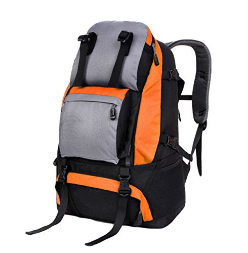 L'alpinismo Esterno Zaino Esterno Borse Sportive Il Sacchetto Di Spalla Di Corsa Zaino Escursioni,Khaki Orange