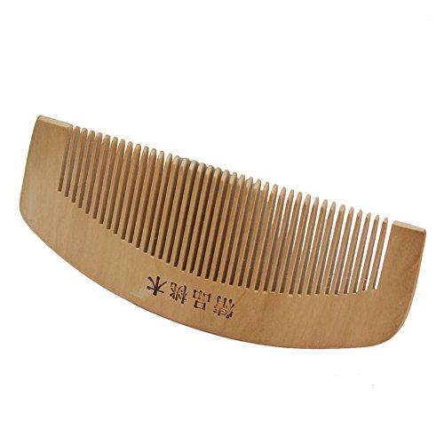 Peigne Combs en Bois Anti-statique Cheveux Coiffure Coiffeur Salon Professionnel