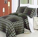 Generic Elm 3 Piece 100% Cotton Duvet Set 300 Full/Queen 3PC
