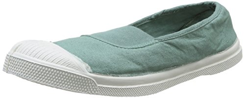 Bensimon  Tennis,  Sneaker donna Verde Vert (Amande 601) 39