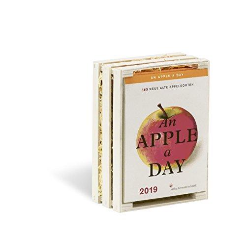 An Apple A Day Kalender 2019: 365 alte Apfelsorten Buch-Cover