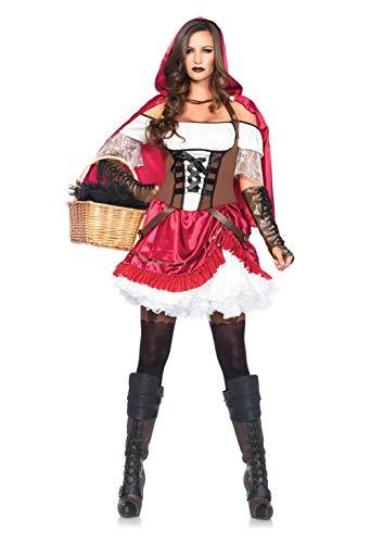 Leg Avenue 85445 - Rebel Riding Hood Kostüm, Größe Small (EUR 36)