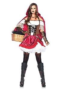 Leg Avenue 85445 - Rebel Riding Hood Costume