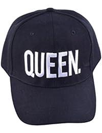 NiSeng Gorras Para Parejas Queen Y King Snapback Hat Gorras De Béisbol