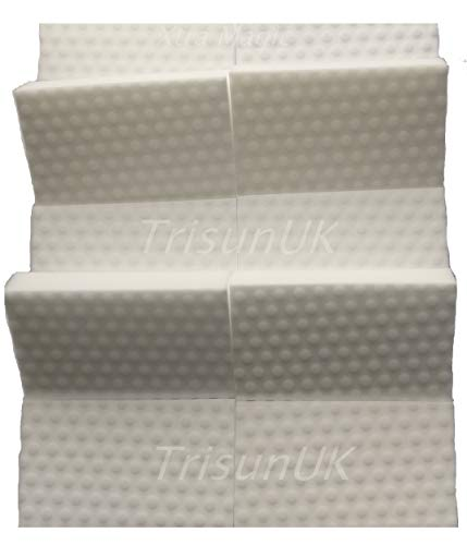 10 Packs of Extra High Density Magic Sponge Eraser Extra Power Cleaning Sponge For Chemical Free Stain and Mark Removal by TrisunUK by TrisunUK