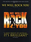 WE WILL ROCK YOU Songbook piano/vocal/guitar mit Bleistift -- Die Songs aus dem Musical von Queen und Ben Elton u.a. mit