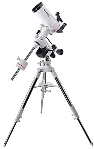 Bresser Messier telescopio y Pantalla Plana MC-100/1400EXOS-2