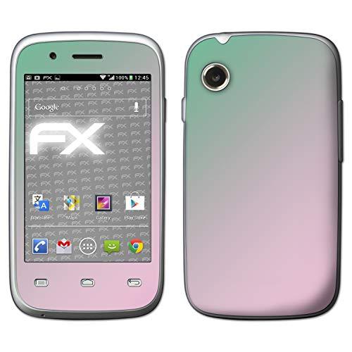 atFolix Skin kompatibel mit Wiko Ozzy, Designfolie Sticker (FX-Variochrome-Spectral), Mehrfarbig schillerndes Farbspiel