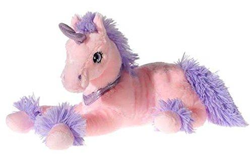 NICI 309265 - Unicorno di peluche, disteso, Rosa
