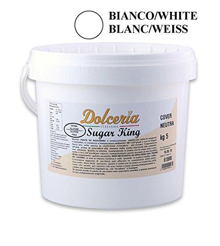 Pasta de azúcar 5 kg Blanco