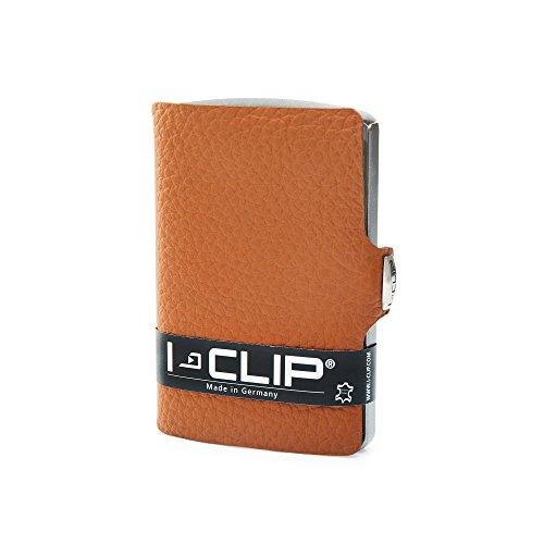 I-CliP Portefeuille Compact - Marron