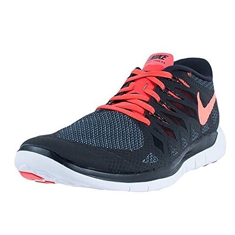 Nike Free 5.0 (GS) Laufschuhe black-bright crimson-white - 38