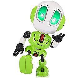 SOKY Cadeau garçon 3-8 Ans Garcon Jouet, Robot Parlant pour Enfants Jouets pour Fille de 3-8 Ans Fille Anniversaire 3-8 Ans Garcon Fille Cadeau de Noel pour Fille de 3-8 Ans Fille Jeux Jouet