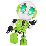 EUTOYZ - Robot parlante Che ripete Quello Che dici, Giocattolo educativo per 3-8 Anni, Verde.