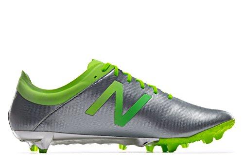 New Balance, Scarpe da calcio uomo Argento
