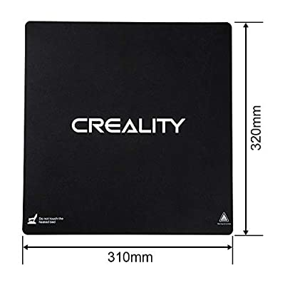 CR-10S Pro Build Surface Plate Aufkleber, beheiztes Bett, Original-Ersatzband für Creality 3D Drucker CR-10S Pro/CR-X 320 x 310 mm, 2 Stück