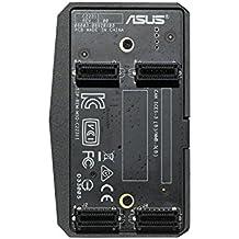 ASUS ROG-SLI-HB-BRIDGE Interno SLI tarjeta y adaptador de interfaz - Accesorio (SLI, SLI, Negro, 58 mm, 99 mm, 24 mm)