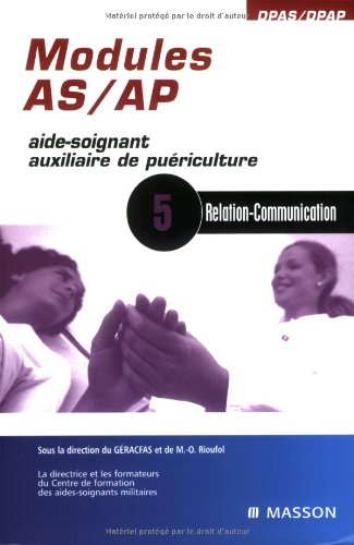 Modules AS/AP - 5: Relation-Communication