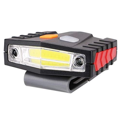 TINSAHW USB-Ladestation COB Nachtfischen Jagd Head-Mounted Scheinwerfer Lampe Xenon-Licht Sensation Ladestation Clip Kappe Licht -