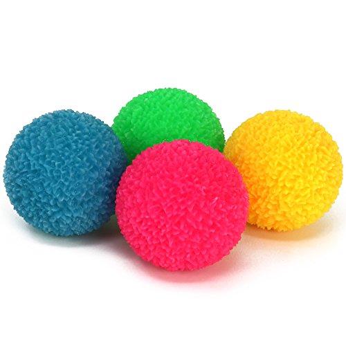 -Ball mit LED-Farbwechsel, Ball in Kristall-Optik [Auswahl variiert], Ø 6,5 cm ()
