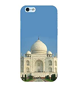 Fiobs Designer Back Case Cover for Apple iPhone 6S (Tajmahal Agra)