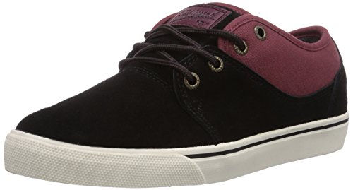 Globe Mahalo Unisex-Erwachsene Sneakers Mehrfarbig (black/port 10995)
