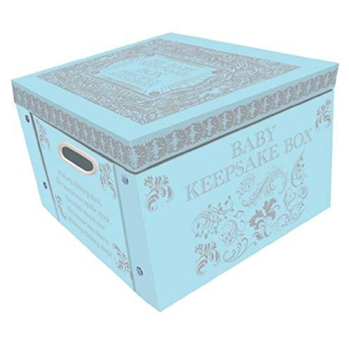 Blue My Baby Keepsake Box A Lifetime Of Memories Large Collapsible Storage Box