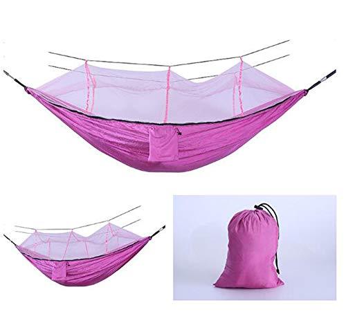 AFFC Outdoor-Camping-Hängematten umfassen Moskitonetze - tragbare Indoor-Outdoor-Rucksäcke für Überleben und Reisen, Bergsteigen, Höfe, Strände und Touren,J