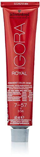 Schwarzkopf Igora Royal - Tinte Permanente, Tono 7-57 - 60 ml