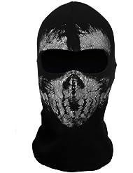 Llamada de los fantasmas de trabajo del 10 de llamada Máscara de la capilla del esqueleto del cráneo cabeza máscara pasamontañas