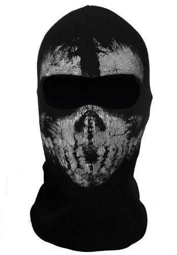 Tod Mädchen Kostüm Das - Queenshiny Schädel Balaclava Haube Gesichtsmaske zentai (Einheitsgröße, Schädel-5)