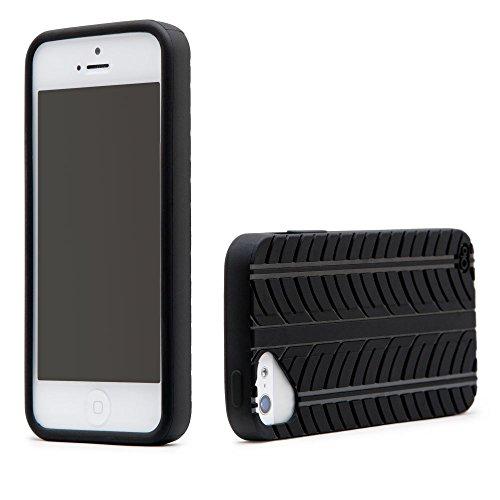 Cloud Olo-Cover per Apple iPhone 5, motivo P Fashion -Tread-Black