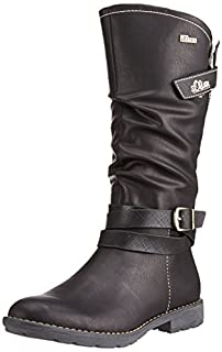 StiefelSchwarzblack 1 S oliver 56600 Langschaft Mädchen rCBWQdoex