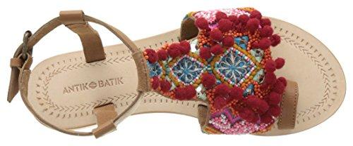 Antik Batik - Sunny, Infradito Donna Multicolore(Multico)