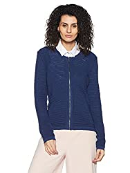 United Colors of Benetton Womens Jacket (17A1PC1E9030I_Blue_M)