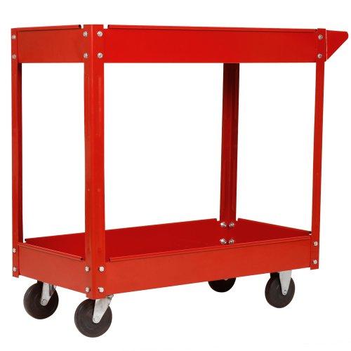 Werkzeugwagen / Rollwagen Werkstattwagen mit 2 Etagen - 3