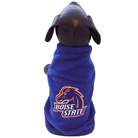 NCAA Boise State Broncos Polar Fleece Dog Sweatshirt, Tiny by All Star Dogs