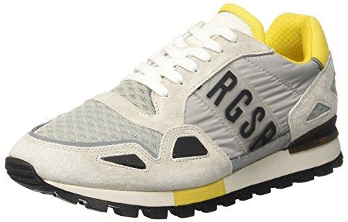 BIKKEMBERGS Herren Fend-Er 866 Niedrige Sneaker Grau