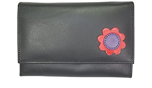 Toucan of Scotland Genuine Leather Ladies Coin Credit Card Notes Purse